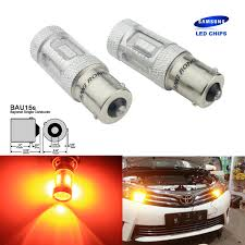 Angrong 2x T20 W21w W215w White Led Drl Side Light Bulb For