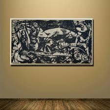 Small Picture Online Buy Wholesale jackson pollock painting for living room from