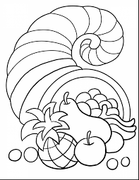 Small Picture surprising thanksgiving cornucopia coloring pages printables with