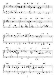 Fly Me To The Moon Sheet Music For Piano Download Free In