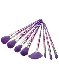 unicorn brush set. unicorn design makeup brush set