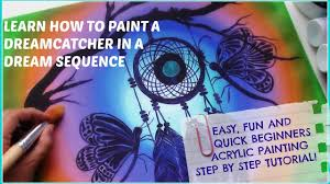 easy fun and quick canvas painting for beginners acrylic painting step by step tutorial