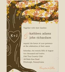 Wedding Invitation Template Online 26 Fall Wedding Invitation Templates Free Sample Example