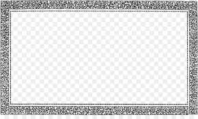 black and white square area board game pattern vintage border frame png pic