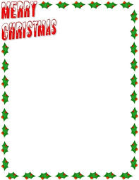 Holiday Borders For Word Documents Free Christmas Border For Word Document Under Fontanacountryinn Com