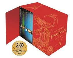 harry potter hardback boxed set the plete collection harry potter children s edition books