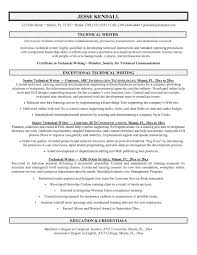 Technical Writer Resume Examples Awesome Collection Of Technical Writer Resume Examples Examples Of 4