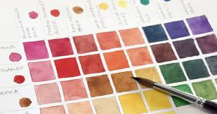 Watercolor Mixing Chart Download How To Make A Watercolor Mixing Chart Step By Step