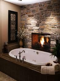 bathroom 2017 enjoyable structure stone modern fireplace in bathroom with white modern laminated bathtub combine