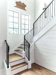Farmhouse stair railing Silent Modern Farmhouse Staircase Remarkable Shaped Stairs Design Best Farmhouse Shaped Staircase Design Ideas Remodel Modern Farmhouse Staircase Architectskenyasite Modern Farmhouse Staircase Modern Farmhouse For Sale Modern