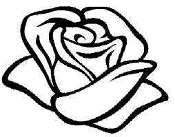Kleurplaat Roos Crosses Roos Tekeningen Roos Kleurplaten