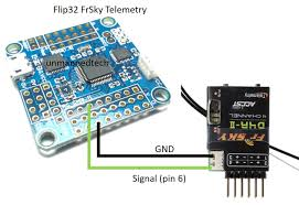 how to use frsky telemetry on your miniquad cleanflight flip32