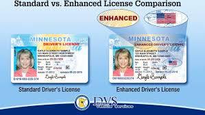Enhanced Available Press Echo License Driver's Minnesota