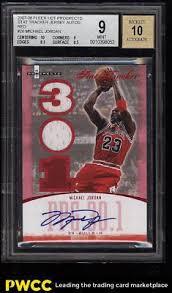 Basketball Tracker 2007 Fleer Hot Prospects Tracker Red Michael Jordan Auto Patch 25
