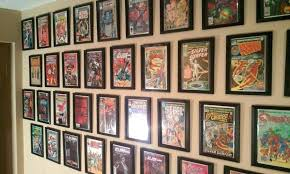 comic book display case comic book wall display comic book frame wall mount comic book display