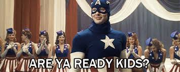 Image result for ah yeah captain america gif