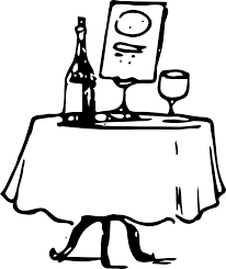 Set The Table Book Set Table Black And White Clipart Clipartfest Set Table
