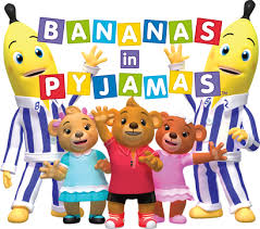 Image result for bananas in pyjamas pictures