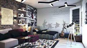 brick wall interior design photo gallery of the decorative on white accent living room gall