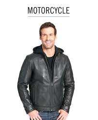 calvin klein leather jackets mens motorcycle black faux er jacket