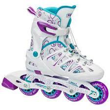 Roller Derby Boy S Tracer Adjustable Inline Skate Size Chart New Roller Derby Stinger 5 2 Inline Skates Boys 2 5