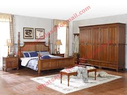 Louis Philippe Furniture Bedroom Philippe De France Style King Bed With Wardrobe In Bedroom