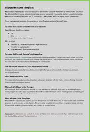 Free Resume Templates You Can Edit Luxury Gallery 16 New Sample