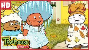 Max U0026 Ruby  Maxu0027s Mud Monster And Rubyu0027s Four Seasons Pageant Max And Ruby Episodes Treehouse
