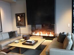 acucraft custom gas 3 sided fireplace custom fire art