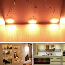 48 SMD Home Kitchen Led Under Cabinet Shelf Accent Lighting Lamp Bulbs Energy Saving High Bright