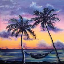 beach sunset beachlandscape paintingsoil paintingsacrylic