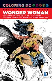 This coloring and activity book set will provide many hours of fun! Amazon Com Coloring Dc Wonder Woman 9781401267292 Various Various Books