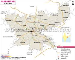 Jharkhand Road Map