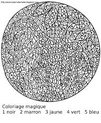 Maternelle Coloriage Magique Coloring Pages By Number