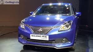 new car launches for diwaliMaruti Baleno RS India Launch By Diwali