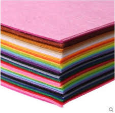 <b>40pcs</b>/<b>lot</b> Polyester <b>1mm Thickness</b> Felts Cloth DIY Bundle For ...