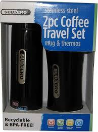 Sub Zero 2 Piece Coffee Travel Set: Kitchen & Dining - Amazon.com