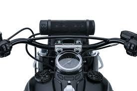 kuryakyn road thunder® sound bar by mtx® speakers audio kuryakyn pn 2715 road thunder sound bar by mtx satin black