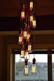 light bulb chandelier by edison uk