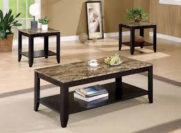 appealing marble living room table set and furniture faux marble coffee table set occasional set end