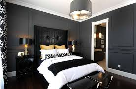 black white gold bedroom contemporary with hotel bedding desk and ...
