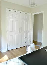 closet door finger pull models