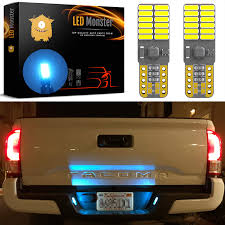 Lights The Ice Pack Led Monster 2 Pack Ice Blue 3 Smd Led Bulbs For License Plate Lights Car Interior Dome Map Door Courtesy Extremely Bright Compact Wedge T10 168 194