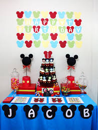 Mickey Mouse Clubhouse 1st Birthday First Outfit Baby Cakes Party