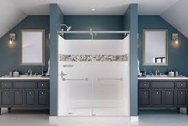 Bathroom Redo Unique Easy Bathroom Renovation UPstile Shower Wall System Delta Faucet