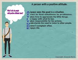 teaching kids about positive attitudes