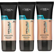 l oreal infallible pro glow 24hr foundation new sealed please select shade