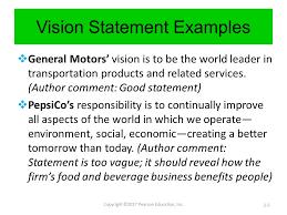 7 Business Vision Statement Global Strategic Sourcing