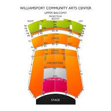 Williamsport Community Arts Center Seating Chart Williamsport Community Arts Center Tickets