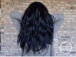 Navy Blue Hair Blue Tint Hair